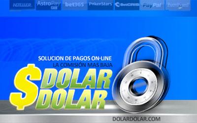 Compra o Vende Dólares en DolarDolar.com